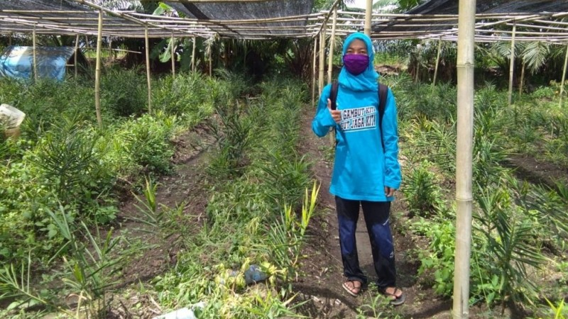 Fitriyani Senang Terlibat Penyelamatan Lingkungan di Perdesaan Gambut