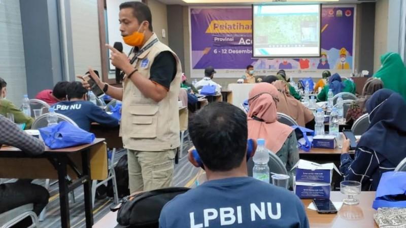 Relawan Aceh Ikuti Pelatihan Pencegahan Covid-19