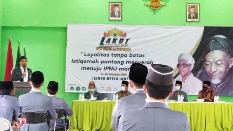 Kader IPNU Harus Jadi Motor Penggerak Militan Organisasi