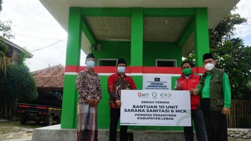 Program Sanitasi NU Care Sentuh 1.300 Jiwa di Lebak