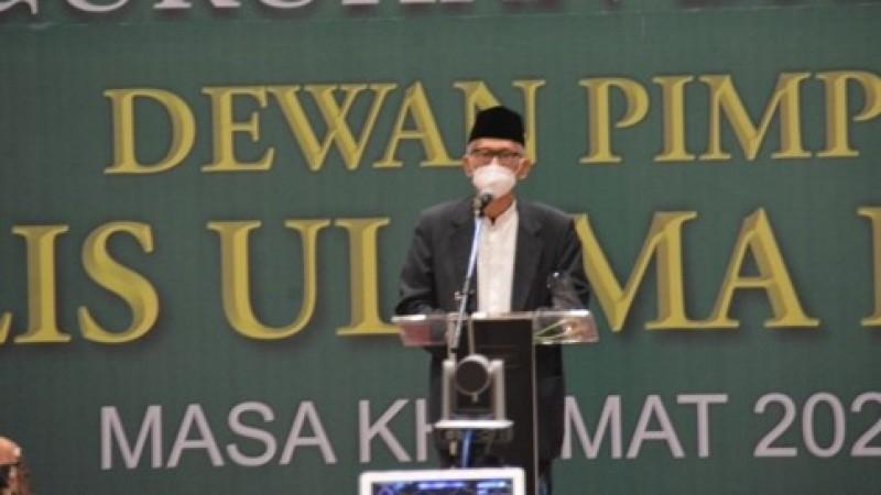 Pengurus MUI Pusat Dilantik, KH Miftachul Akhyar: Alhamdulillah Tsumma Innalillah