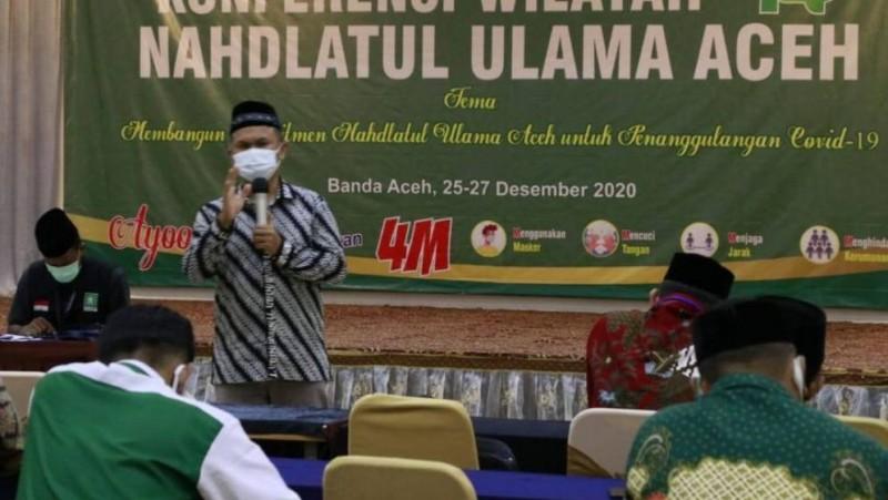 RMI NU Sosialisasi Cegah Covid-19 di Pesantren Aceh