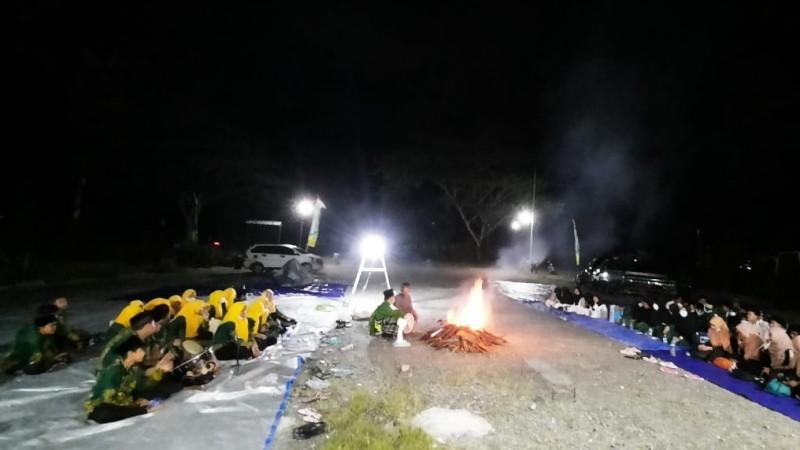Remaja Mimika Papua Isi Tahun Baru dengan Shalawatan