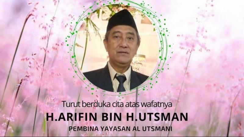 Innalillahi, Pengasuh Pesantren Al-Utsmani Pekalongan KH Arifin Usman Wafat