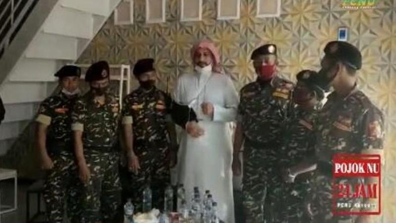 Kisah Syekh Ali Jaber saat Melawat ke Jember, Mengaku Enak Dikawal Banser