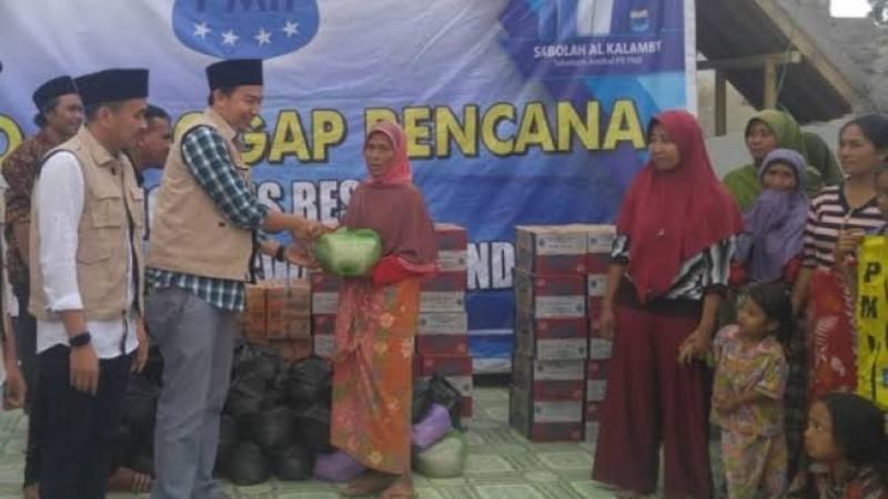 Tagana PMII Galang Dana untuk Bencana Alam di Kalsel dan Sulbar