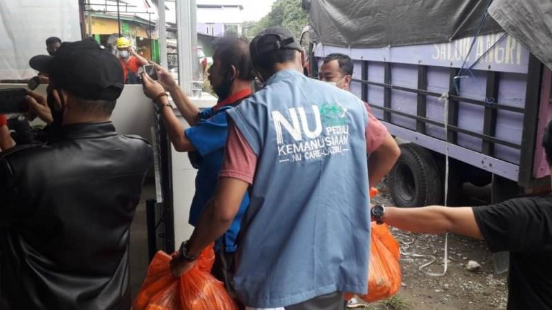 NU Kirim Sembako ke Daerah Terdampak Gempa Sulbar