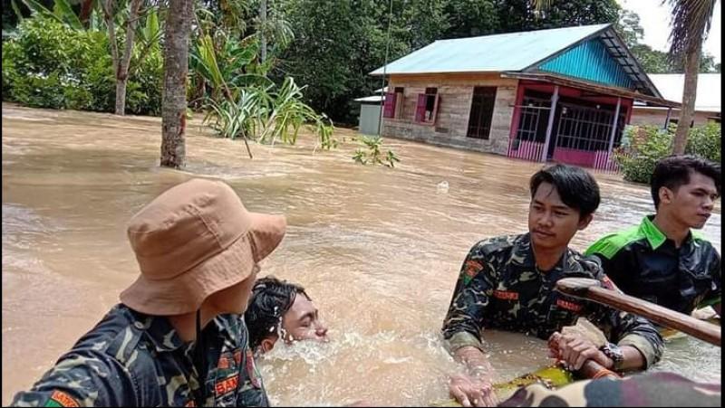 Kondisi Terkini Banjir Kalsel: Butuh Perahu untuk Evakuasi Warga dan Distribusi Logistik