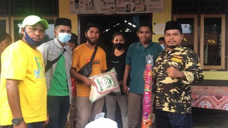 Baru Dibentuk Dua Hari, LPBINULangsung Bantu Warga Terdampak Bencana di Halmahera Utara