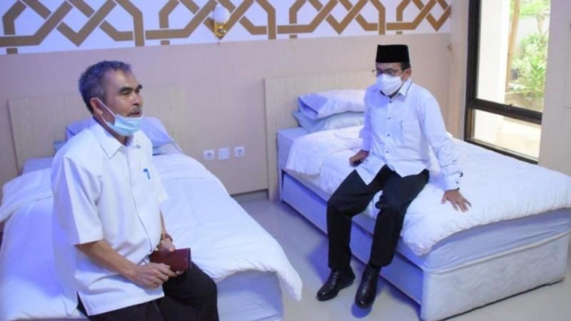 Asrama Haji Bisa Dipakai Karantina Jamaah Umrah