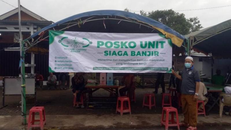 Bersama BPKH, LAZISNU Luncurkan Dapur Umum Bantu Pengungsi Banjir Kalsel