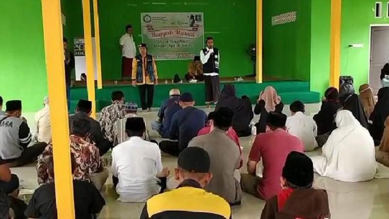 NU Melawi Buka Harlah 95 NU dengan Ruqyah Aswaja Massal Perdana