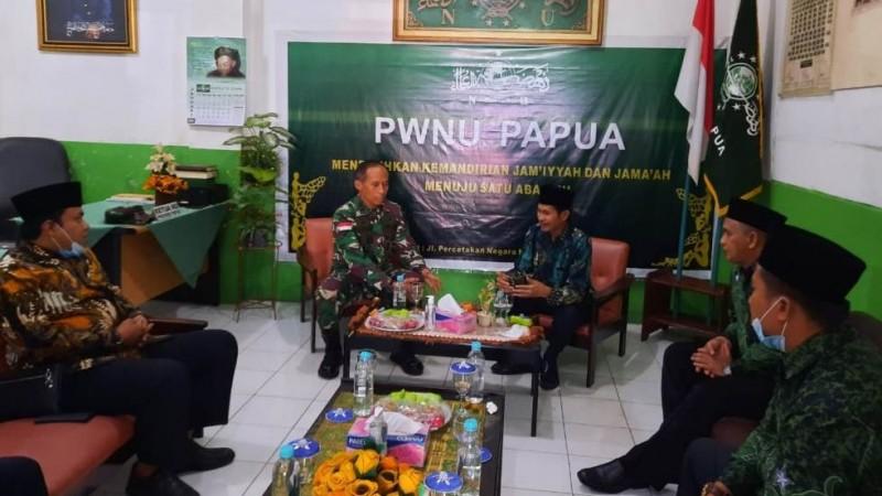 NU Papua Terima Kunjungan Panglima Kodam XVII