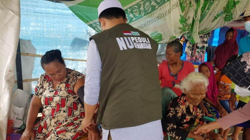 Dokter NU Kalsel Beri Pendampingan Kesehatan Warga Terdampak Banjir
