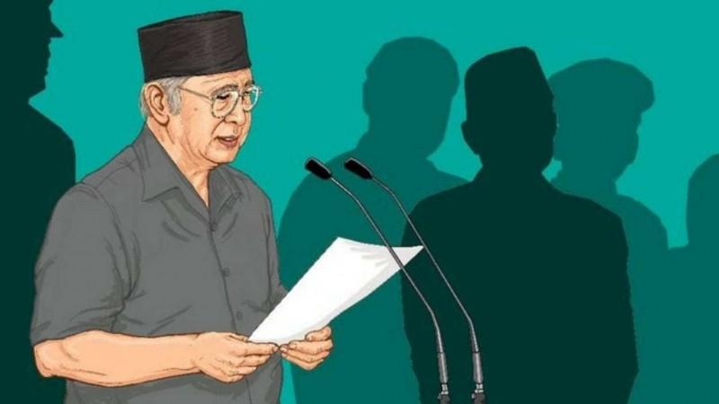 Gus Dur Melawan Intervensi Soeharto