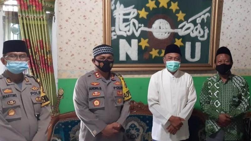 Kapolres Silaturahmi ke Ketua NU Pringsewu Bahas Dinamika di Tengah Masyarakat