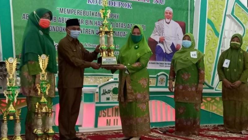 Muslimat NU Depok Gelar Lomba Baca Maulid dengan Prokes Ketat
