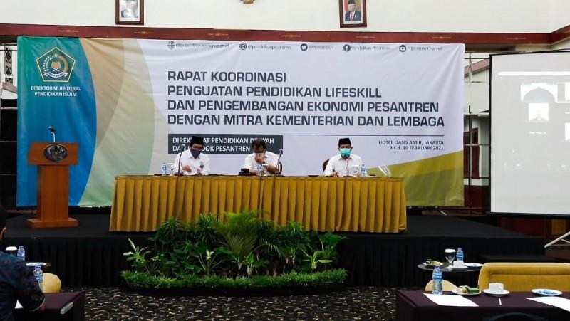 Kemenag Gandeng Kementerian dan Lembaga Negara Kembangkan Ekonomi Pesantren