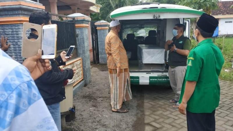 Ansor Tulungagung Bantu Pemulangan Jenazah TKI yang Meninggal di Malaysia