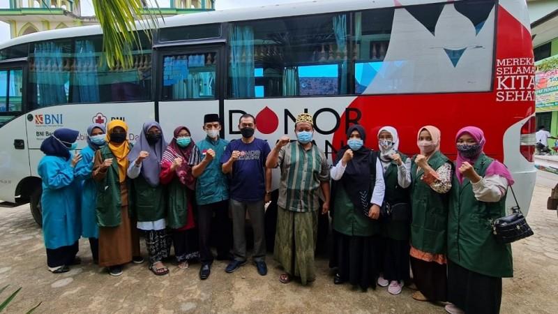 Gandeng PMI, Pesantren Darul A'mal Metro Gelar Donor Darah