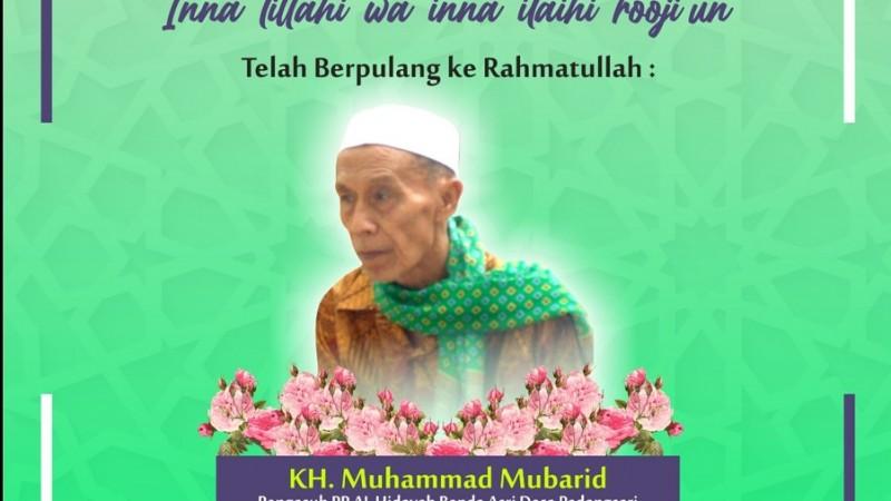 Innalillahi, Pengasuh Pesantren Al-Hidayah Majenang Cilacap KH Ahmad Mubarid Wafat