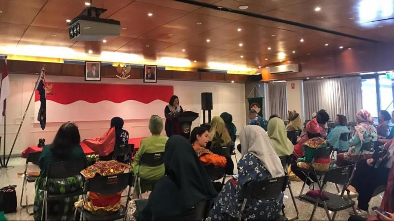 Muslimat NU Australia dan KJRI Perth Gelar Seminar Ketahanan Keluarga