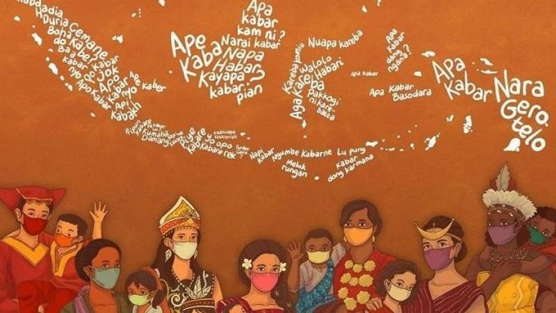 Bahasa Ibu yang Tak Mati Digempur Globalisasi