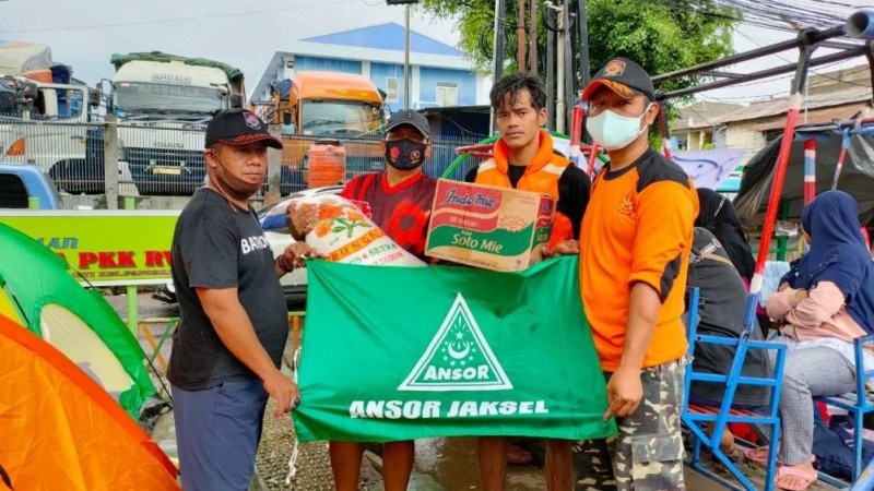 Banom dan Lembaga NU Jaksel Buka Posko Tanggap Bencana Banjir