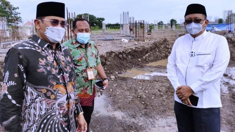 Pemprov Jatim Bantu Pembangunan Masjid KH Hasyim Asyari Sidoarjo