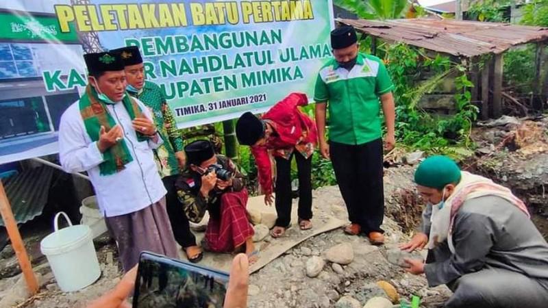 Jalan Berliku Pembangunan Kantor NU Mimika Papua