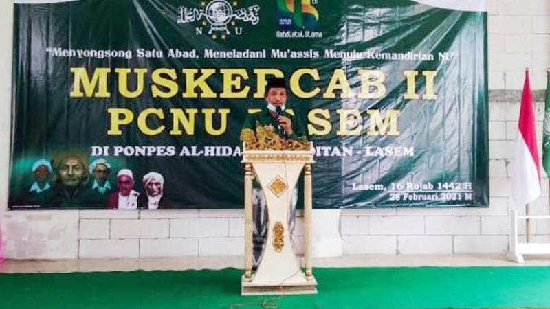 NU Lasem Jadikan LP Ma'arif sebagai Program Unggulan