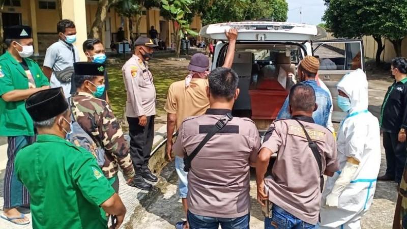 Ansor OKU Timur Bantu Pemulangan Jenazah Korban Pembunuhan