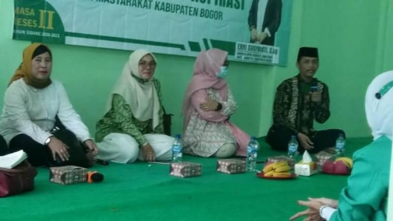 Fatayat NU Bogor Diajak Perkuat Kualitas Diri untuk Kepentingan Organisasi