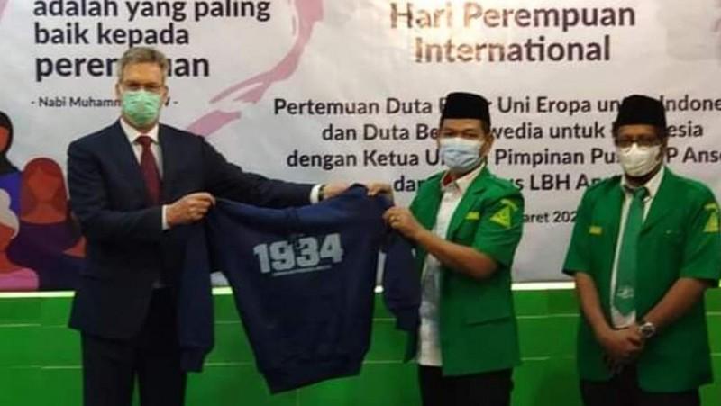 Terima Kunjungan Dubes Uni Eropa, GP Ansor Bangun Sinergi Penguatan Kesetaraan
