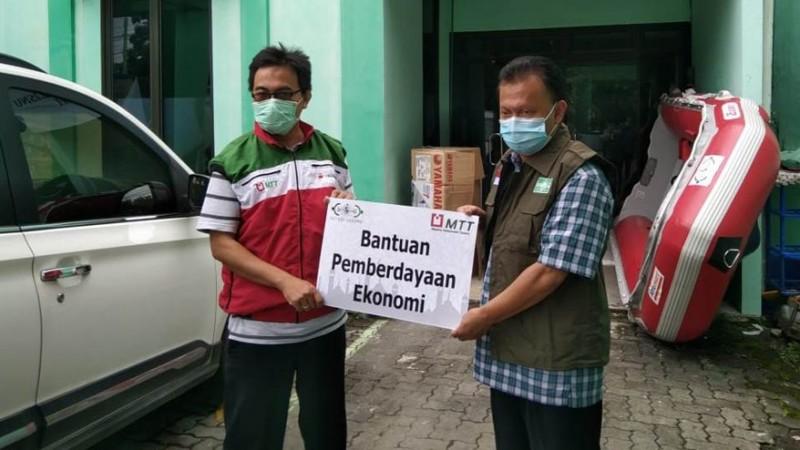 Gandeng Karyawan BUMN, LAZISNU Jateng Berdayakan Pengusaha Kecil