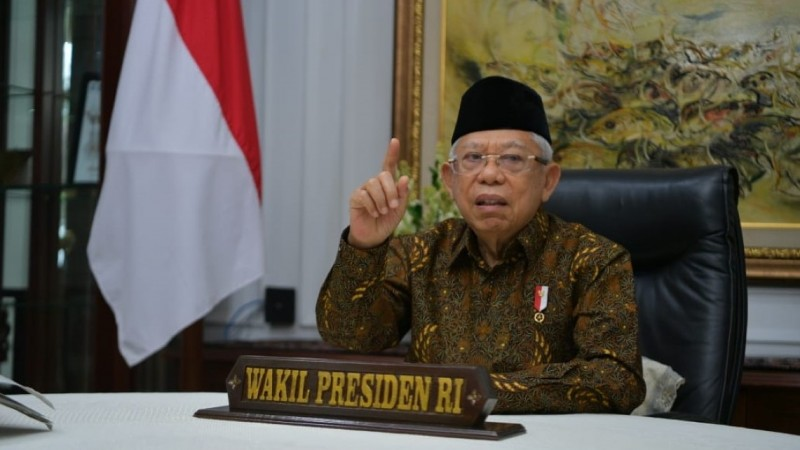 Wapres Jelaskan Berbagai Ikhtiar Perkuat Ekonomi Syariah di Indonesia