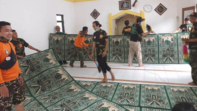 Sambut Isra' Mi'raj, GP Ansor Kaliwates Jember Gelar  'Gerebek Mushala'