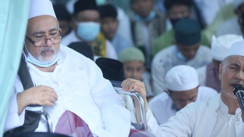 Haul Habib Hamid Alattas di Depok Jawa Barat