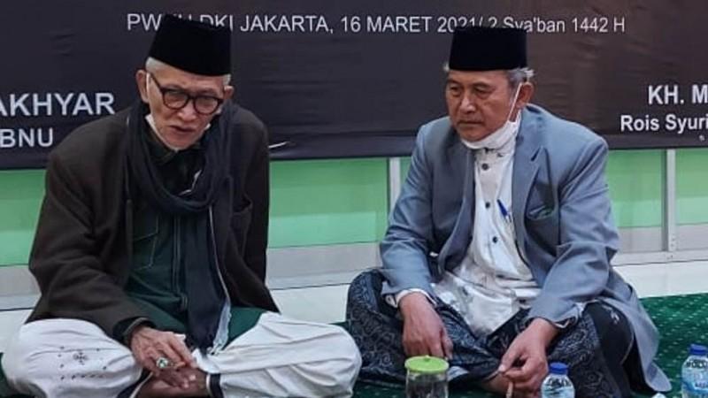 Rais Aam PBNU Kunjungi Pengurus Harian PWNU DKI Jakarta Jelang Konferwil