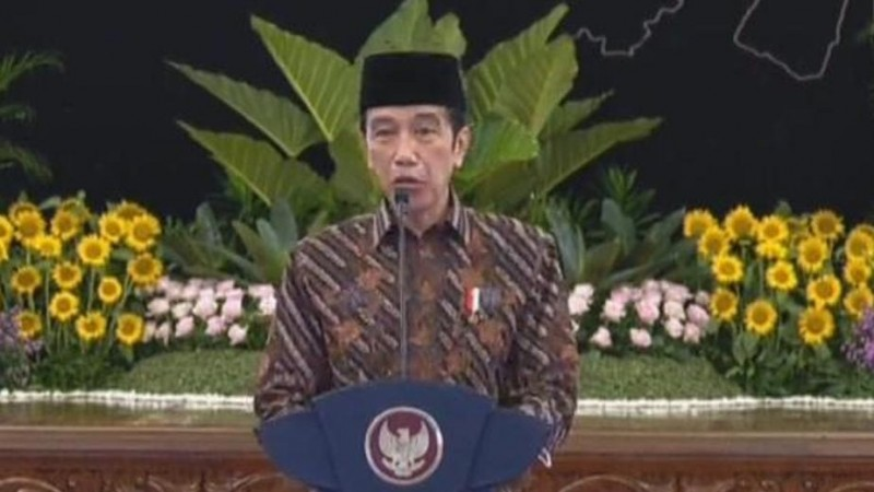 Presiden Jokowi Minta Partisipasi PMII Tanggulangi Persoalan Covid-19