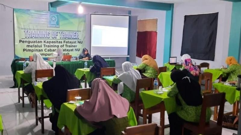 Fatayat NU Lampung Tengah Terus Tingkatkan Kapasitas Organisasi