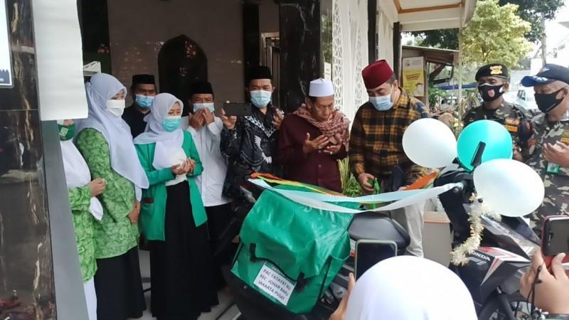 Fatayat NU di Jakarta Pusat Luncurkan Perpustakaan Keliling
