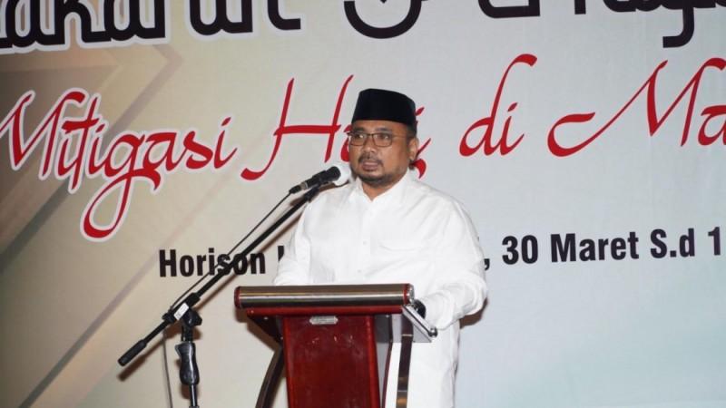 Menag Yaqut Instruksikan Jajarannya Siapkan Skenario Haji Sedetail Mungkin