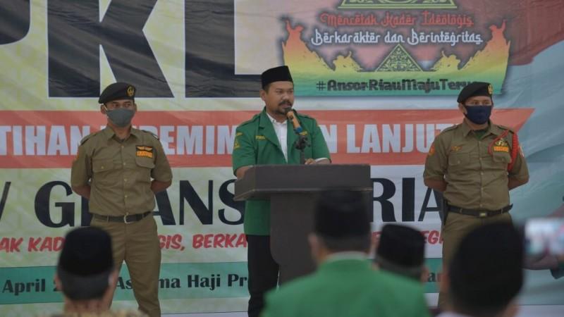 Langkah Ansor Riau Lahirkan Pemimpin Berkarakter dan Berintegritas