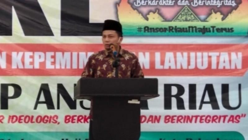 Pelatihan Ansor di Riau Diikuti Para Dosen