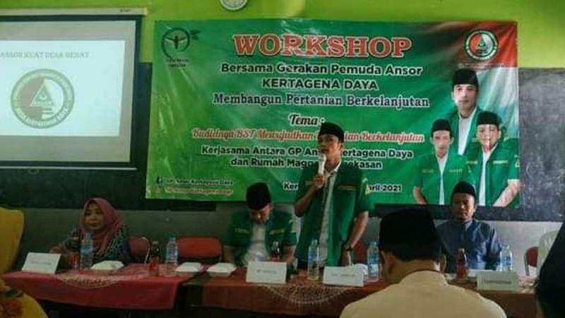 Budidaya Maggot, Langkah Nyata Ansor Pamekasan Dorong Pertanian Berkelanjutan