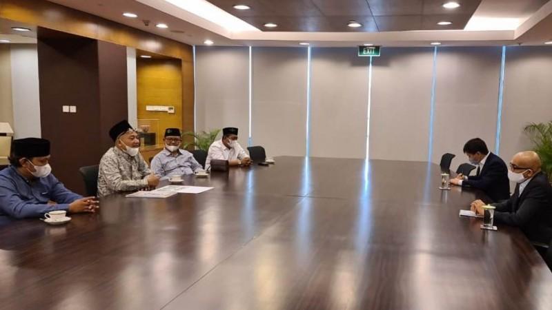 PCNU Banyuwangi Siap Kerja Sama Bidang Kesehatan dan Pendidikan dengan Kedubes Singapura