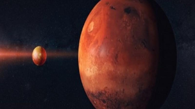 The moon will 'eclipse' Mars tonight