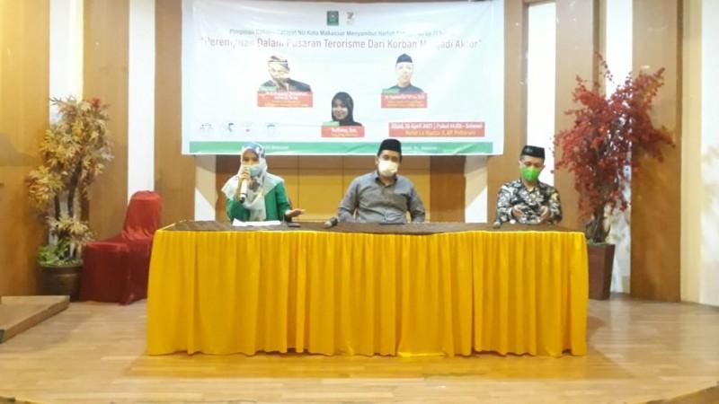 Fatayat NU Makassar Perkuat Kajian Islam Moderat hingga Tingkat Kecamatan