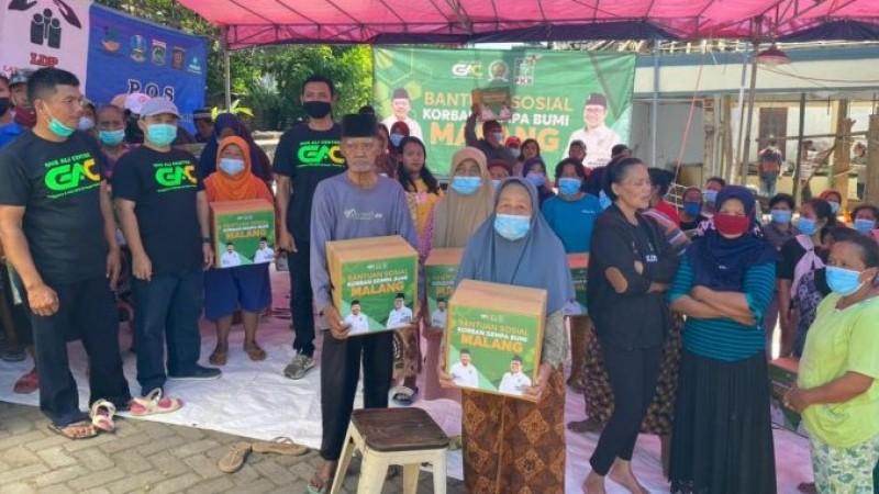 Anggota Komisi IX DPR Salurkan 1.000 Paket Sembako untuk Korban Gempa Malang